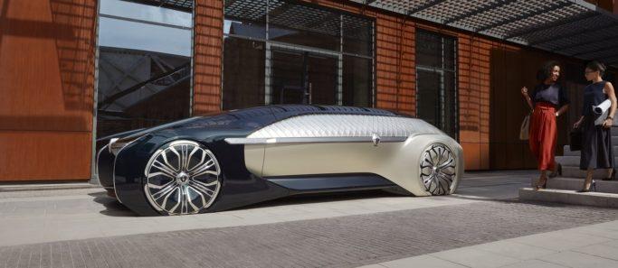 Nouvelle voiture électrique Renault